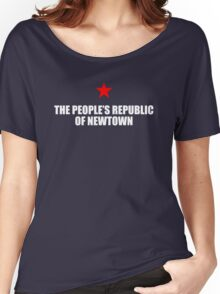 People's Republic of Newtown (White) Women's Relaxed Fit T-Shirt