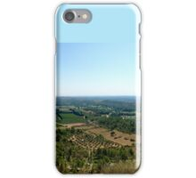 Mountain panorama of France iPhone Case/Skin