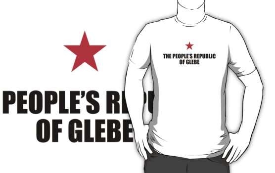 People's Republic of Glebe (Black) by PJ Collins