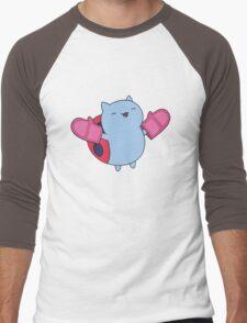 Catbug Men's Baseball ¾ T-Shirt