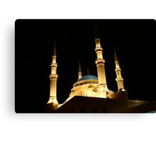 Mohamed al-Amin Mosque in Beirut, Lebanon Canvas Print