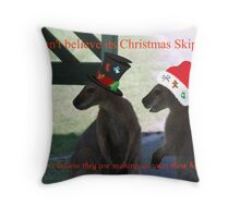 What's That Skippy Throw Pillow