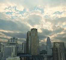 Future City After the Storm by algoldesigns