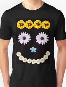 Smilley flower face T-Shirt