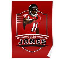 Julio Jones - Atlanta Falcons Poster