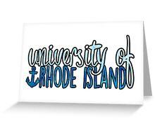 University of Rhode Island - 2tone Greeting Card