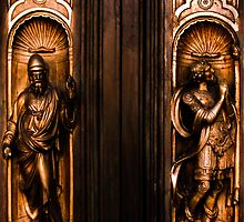 Grace Cathedral Door Detail - SFO by David Mellor