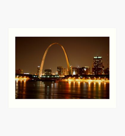 Jefferson National Expansion Memorial, St. Louis Art Print