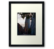 St Laurence Church, Sydney (HDR) Framed Print