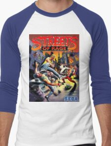 streets of rage 90s Men's Baseball ¾ T-Shirt