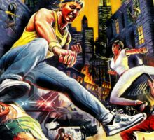 streets of rage 90s Sticker