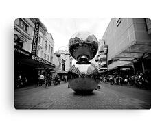Malls Balls - Monochrome Canvas Print