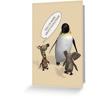 Let's Talk About Evolution Greeting Card