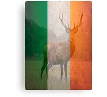 Irish red deer double exposure Canvas Print
