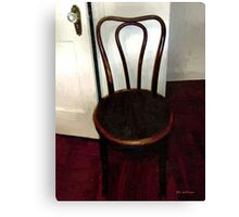 Throne Abandoned Canvas Print