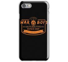 War Boys Auto Repair iPhone Case/Skin