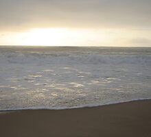 Reflective Sunrise Waves by Kellea Croft