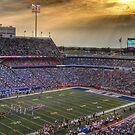 Ralph Wilson Stadium at Dusk by tigerwings