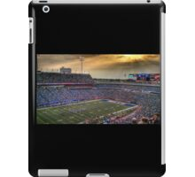 Ralph Wilson Stadium at Dusk iPad Case/Skin