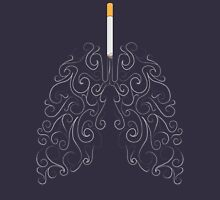 Two Lungs and One Smoking Cigarette T-Shirt