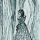 Forest Depths by Rebecca Tripp