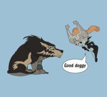 Good doggy by luckydog
