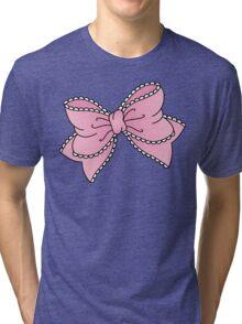 Lacy Bow Tri-blend T-Shirt