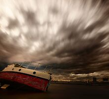 Windy Skies by Yvonne Mitchell