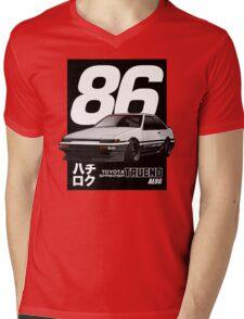 Toyota Corolla Sprinter Trueno AE86 Mens V-Neck T-Shirt