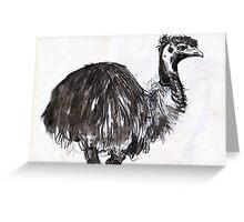 emu#2 Greeting Card