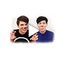 Dan & Phil YouTube Play Button by phan trashno1