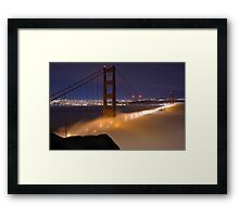 Fogged in at the Gate Framed Print