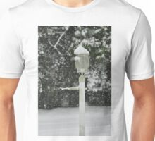Lamp in Snow, As Is Unisex T-Shirt