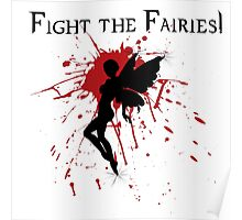 Supernatural Fight the Fairies Poster