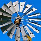 Windmill blades  by Ali Brown