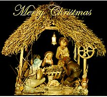 Nativity Photographic Print