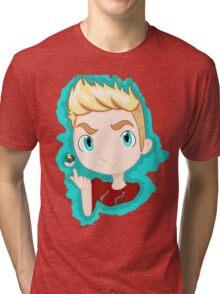 Trainer Lachlan Chibi Tri-blend T-Shirt