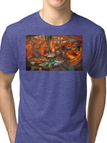 Dr. Who Tardis Tri-blend T-Shirt