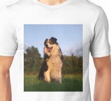To err is human, to forgive, canine. Unisex T-Shirt