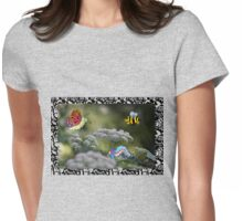 Airborne squadron Womens Fitted T-Shirt