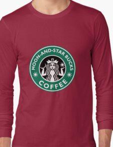 Moon-and-star bucks Long Sleeve T-Shirt