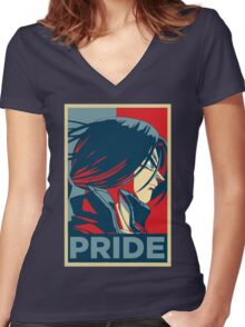 Pride! Trunks Women's Fitted V-Neck T-Shirt