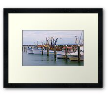 Crowdy Harbour Framed Print
