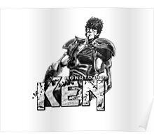 Kenshiro - Hokuto No Ken Poster