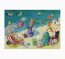 Monster Summer Time on the Beach Kids Clothes