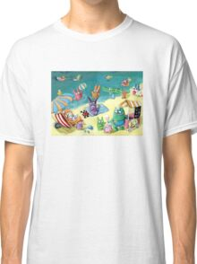 Monster Summer Time on the Beach Classic T-Shirt