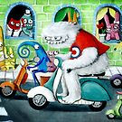 Scooter rally - Yeti and Co. by colonelle