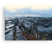 Dusk on The Burren Canvas Print