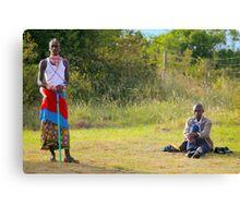 Masai, KENAY Canvas Print