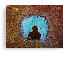 Shadow Matt Canvas Print
